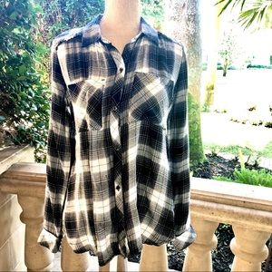 Jessica Simpson Plaid Shirt